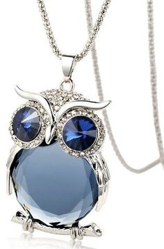 New Owl Necklace Top Quality Rhinestone Crystal Pendant Necklaces Classic Animal Long Necklace Jewelry For Women Gift New Owl Necklace Crystal Pendant Necklace Owl Jewelry, Jewelry Necklaces, Women Jewelry, Long Necklaces, Ethnic Jewelry, Ladies Jewelry, Jewelry Logo, Vintage Necklaces, Jewelry Case