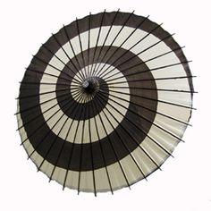 Black & White Swirl Umbrella: Like a giant cocktail umbrella, imagine twirling this down the rainy pavement !