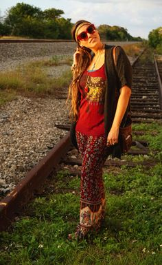 Forever Boho Look: Train Tracks | Forever Boho