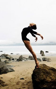 Inspiration is...dancing on the beach.