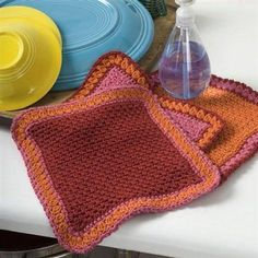 Dandy Dishcloths from Knitting Daily TV Episode 401 - Crochet Me