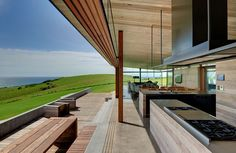 Five Tips for Creating an Award-Winning Kitchen - Design Milk Small Space Kitchen, Contemporary Kitchen Design, Indoor Outdoor, Outdoor Decor, Outdoor Sheds, Outdoor Rooms, Luxury Kitchens, Coastal Homes, Interior And Exterior