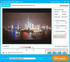 Si desea dividir un vídeo en varias partes y eliminar el clip no deseado, Renee Video Editor, el software 100% gratuito, le puede ayudar de manera fácil y rápida.  http://www.reneelab.es/como-dividir-un-video-en-varias-partes.html