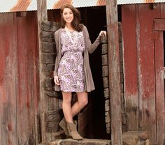 Get the Look: Ariat Country Chic #countryoutfitter #ariat