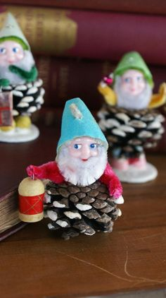 Pinecone elves will lead the way