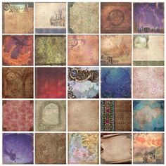 """DCWV Designer Glitter Cardstock 12""""x12"""" - Once Upon a Time 48 sheets - Craftie-Charlie"""