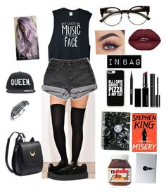 """""""Untitled #55"""" by jaymilyn ❤ liked on Polyvore featuring PèPè, Puma, ZeroUV, Bling Jewelry, Stila, Witchery, Chanel, Vinyl Revolution and Casetify"""