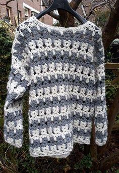 Fabulous Crochet a Little Black Crochet Dress Ideas. Georgeous Crochet a Little Black Crochet Dress Ideas. Black Crochet Dress, Crochet Jacket, Crochet Cardigan, Knit Or Crochet, Crochet For Kids, Crochet Sweaters, Crochet Afghans, Crochet Granny, Crochet Patterns