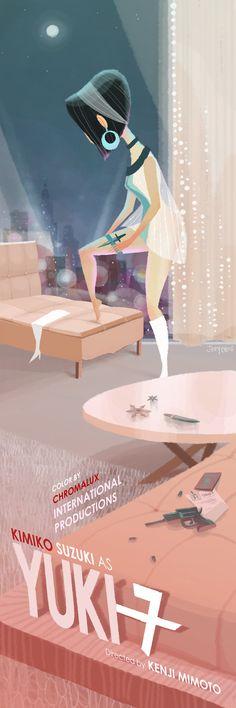Joey Chou - Yuki 7 for Kevin Dart Joey Chou, Dream Illustration, Character Design References, Female Art, Illustrators, Cool Art, Concept Art, Art Gallery, Drawings