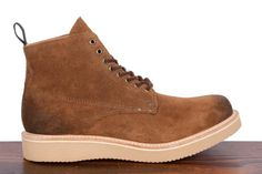Rag & Bone Fleet boot in brown suede.