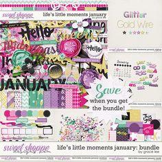 Life's Little Moments January Bundle by Grace Lee