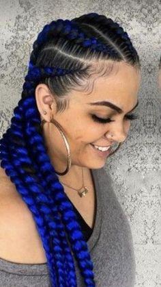 Bantu Knot Hairstyles, Hair Knot, Bantu Knots, Braid Styles, Box Braids, Ear, Tattoos, Beauty, Tatuajes