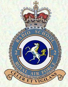 Station badge - RAF Yatesbury/No 2 Radio School Raster To Vector, Air Force Aircraft, Military Cap, Royal Air Force, Coat Of Arms, Military History, Armed Forces, Military Aircraft, Badge