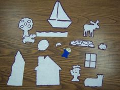 Harold and the Purple Crayon Flannel Board Story pattern Flannel Board Stories, Flannel Boards, K Crafts, Crafts For Kids, Kindergarten, Preschool Literacy, Literacy Activities, Crayon Book, Literacy Bags