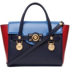 VERSACE Crossbody in Multi (7.315 BRL) ❤ liked on Polyvore featuring bags, handbags, shoulder bags, purses, bolsas, borse, multi, crossbody handbags, versace handbags y cross body