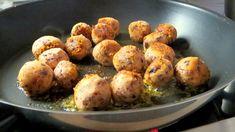 Vegane Hackbällchen: Rezept mit Kidneybohnen Special Recipes, Raw Vegan, Baked Potato, Meal Prep, Low Carb, Vegan Recipes, Paleo, Tasty, Meals