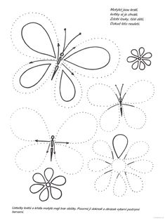 Line worksheets. Tracing Worksheets, Preschool Worksheets, Kindergarten Activities, Preschool Activities, Pre Writing, Writing Skills, Early Learning, Kids Learning, Bugs And Insects