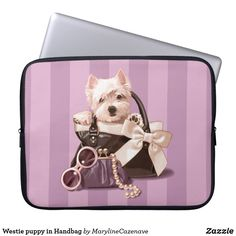 Westie puppy in Hand