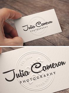 Embossed Business Card PSD Mockup to present your branding design in a photorealistic look. This free PSD mockup file very easy to edit with smart layers. Embossed Business Cards, Business Card Mock Up, Monkey Business, Embossed Logo, Lettering Design, Branding Design, Logo Design, Identity Branding, Corporate Design