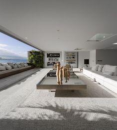 Dream House Interior, Luxury Homes Dream Houses, Dream Home Design, Modern House Design, Home Interior Design, Interior Livingroom, Interior Ideas, Exterior Design, Home Deco