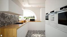 kuchnia nowoczesna z urządzeniami do zabudowy siemens - zdjęcie od Michał Ślusarczyk - Kuchnia - Styl Nowoczesny - Michał Ślusarczyk