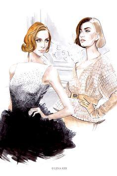 Lena Ker Fashion Illustrations