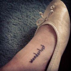 Se você sonha em fazer uma tattoo, mas não consegue achar nada simples o suficiente, uma palavra só pode ser a solução!