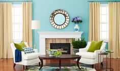 Living Rooms with Fireplaces - Pictures of Fireplaces in Living Rooms - Woman's Day