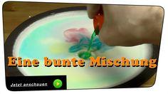 Mahlzeit. In diesem Video zeige ich Euch einen Farbeneffekt mit Milch, Lebensmittelfarben und Spülmittel. Durch die geringere Dichte der Farbe und der Fettmoleküle entstehen schöne, bunte, lustige Farbbilder. Einfach zu Hause einmal ausprobieren, dann könnt Ihr den physikalischen Effekt des Milch Farbenspiels, besser als im Video, sehen.  #Physik #Wissenschaft #Milch #Lebensmittelfarbe #Experiment #Farbenspiel #Spülmittel
