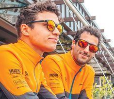McLaren Racing Announced New Partnership With SunGod Sunglasses Mclaren Formula 1, Daniel Ricciardo, Mclaren F1, F1 Drivers, Men's Sunglasses, Cool Things To Make, Superstar, Two By Two