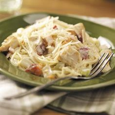 Creamy Chicken Angel Hair