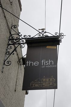The Fish at Wixford - Pub Pub Signs, Shop Signs, Blade Sign, Uk Pub, Nautical Signs, Sign Board Design, Outdoor Signage, British Pub, Business Signs