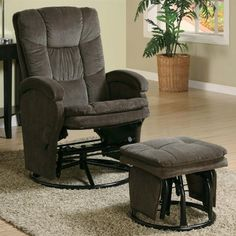 # 600159 2PC Modern Swivel Gliding, Rocking Recliner Chair With Metal Ottoman In Choco... null,http://www.amazon.com/dp/B004XL43TQ/ref=cm_sw_r_pi_dp_ixn.sb1GR2VT3G39