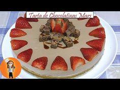 Tarta de Chocolatinas Mars sin horno | Receta de Cocina en Familia - YouTube Waffles, The Creator, Pie, Chocolate, Breakfast, Youtube, Desserts, Food, Cooking Recipes