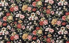 vintage floral print tumblr background - Google Search