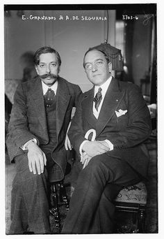 """Enrique Granados Campiña (27 July 1867 – 24 March 1916) was a Spanish pianist and composer of classical music."""" He and his wife died when a German U-boat sank the passenger ferry Sussex in the English Channel. Andrés Perelló de Segurola (27 March 1874 - 23 January 1953) was a Spanish operatic bass who performed as Andrés de Segurola. He was a member of Metropolitan Opera Company between 1901 and 1920 and later appeared in many films."""