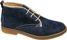 Lace-up Ankle Boots in Blue | Deichmann