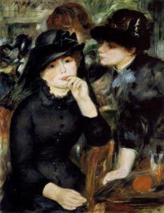 """Auguste Renoir, """"Two Girls In Black"""""""