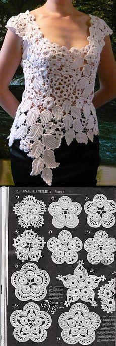Die 332 Besten Bilder Von Irische Muster Häckeln Irish Crochet