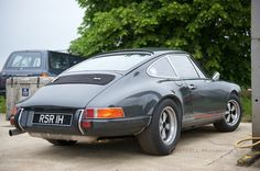 Superb Slate Grey classic Porsche 911 built to order by a long-time friend and 911 enthusiast. Based on a 1973 911E, it is a true modern classic.