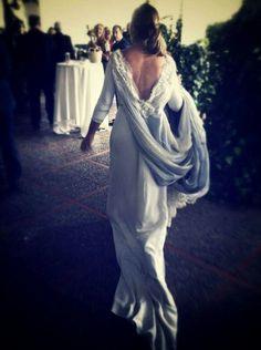 La espalda de un vestido de novia   Carmen Soto The Bride   Atelier de vestidos de novia