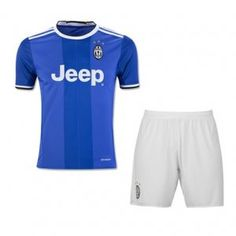 Juventus 16-17 Season Away Soccer Uniform (Shirt+Shorts) [G543]