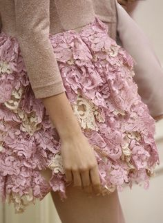 layered lace- #pink #pretty