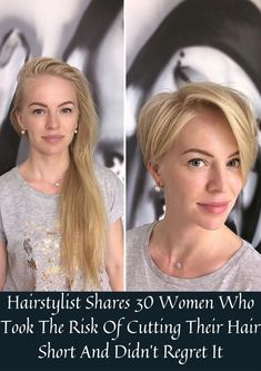 Nowadays, short hair for females is not only considered practical, but also a very stylish option that most women tend to go for when they want to switch up their look. #Hairstylist #30Women #Hairshort