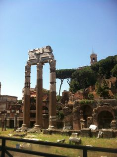 Ancient Rome still stands today