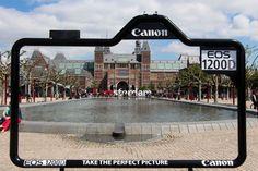 Take The Perfect Picture, Canon 超高画質カメラを訴求する、目から鱗のアウトドア広告 | AdGang