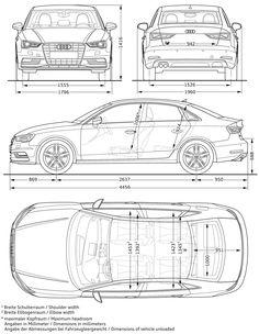 Audi A6 Avant - Abmessungen & Technische Daten - Länge, Breite, Höhe ...