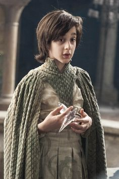 ROBIN ARRYN ~ CREEPY SON OF CATELYN'S SISTER, LYSA ARRYN ... WHO STILL IS BREASTFED BY HER WHILE SHE'S HOLDING COURT
