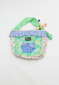 PRETTY IN PASTEL JOE'S TURN BAG  $32.00 | Code: PLATBAC38          Description  For every Joe's Turn Bag purchased, $20 goes to Turnstone. Born with love in the USA.  6567