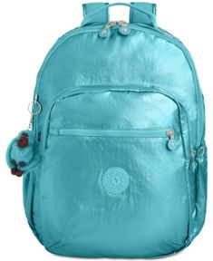 2f7e400b6 Kipling Seoul Go Large Backpack - Blue Estojos Kipling, Material Escolar  Legais, Malas De